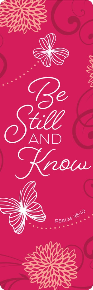 Be Still and Know Bookmark