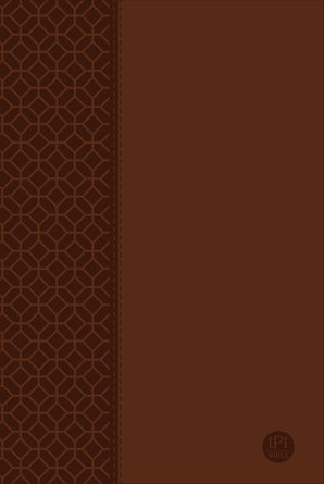 The Passion Translation New Testament Large Print Brown