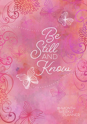 Be Still and Know 2019 Planner