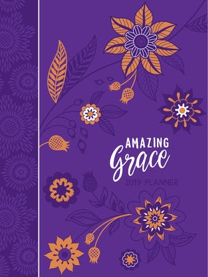 Amazing Grace 2019 Planner (Faux Leather)