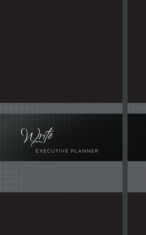 Write 2019 Executive Planner (Onyx)