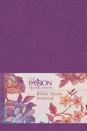 The Passion Translation Bible Study Journal (Peony)