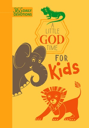 A Little God Time for Kids (faux leather edition)