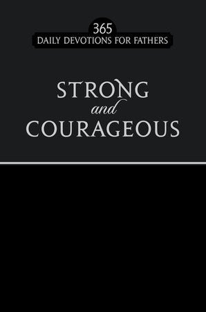 Strong and Courageous black faux edition