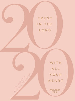 Trust in the Lord 2020 Planner
