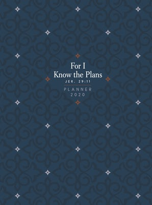 For I Know the Plans 2020 Planner