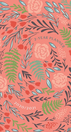 Coral Floral 2020 - 2021 Planner
