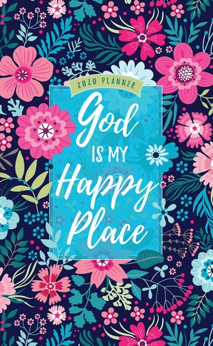 God Is My Happy Place 2020 Planner