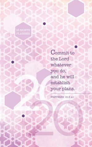 Commit to the Lord 2020 Planner