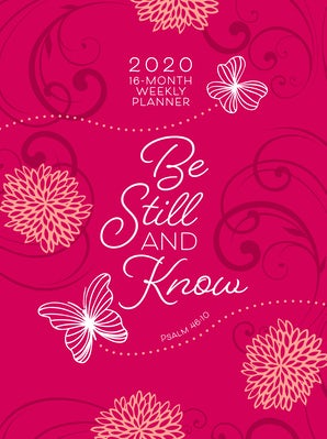 Be Still and Know 2020 Planner