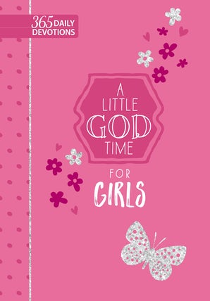 A Little God Time for Girls (faux)