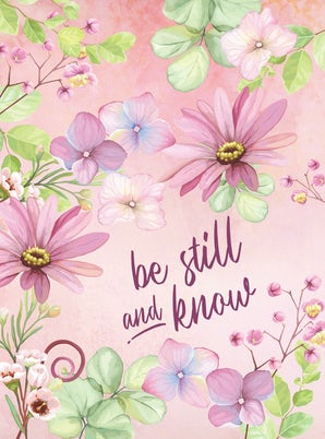Be Still and Know Hardcover Journal