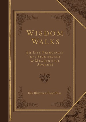 Wisdom Walks Faux Leather Gift Edition