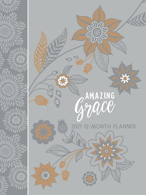 Amazing Grace Gray 2021 Planner