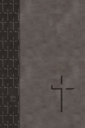The Passion Translation New Testament (2020 Edition) Large Print Gray
