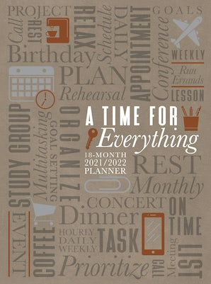 A Time for Everything 2022 Planner