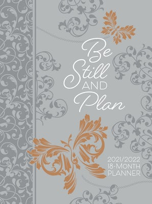 Be Still and Plan 2022 Planner